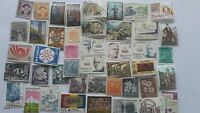 75 Different Andorra (Spanish) Stamp Collection