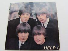 The Beatles 1965 francés e P ayuda! Odeon 3769 Excelente