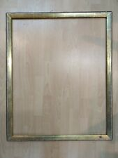 ancien cadre 25F baguette doré feuillure 81 cm x 65 cm frame gravure peinture