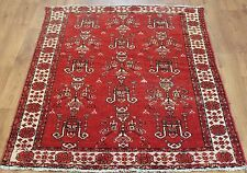 OLD WOOL HAND MADE PERSIAN ORIENTAL FLORAL RUNNER AREA RUG CARPET 190x120CM