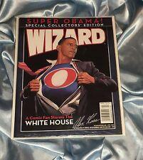WIZARD WORLD 2009~SUPERMAN/OBAMA WHITE HOUSE ALEX ROSS COVER ART~HTF~SEALED