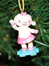 NEW Disney DOC MCSTUFFINS LAMBIE LAMB Custom Christmas Ornament PVC