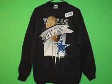 NWOT 1994 Dallas Cowboys Men's Size L Large Tultex Team NFL Black Sweatshirt