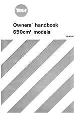 (0385) 1971 BSA A65 instruction book
