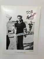 ELVIS PRESLEY AUTHENTIC JUDY WHITEHEAD  COPYRIGHT  AUTOGRAPHED TCB BARDAHL