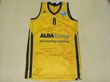 Shirt Maillot Tank Top Basketball Alba Berlin Schaffartzik 8 Size S