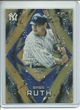 2017 Topps Fire Babe Ruth Orange Refractor Parallel #200 #'d 182/299 Target