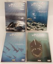The Blue Planet of Seas of Life - Travel DVD's Lot of 4