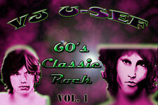 60's Classic Rock  Music Videos * Volume 1 * Beatles Dylan Hendrix Stones Doors*