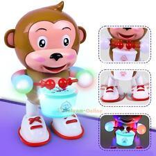Electric Dancing Monkey Flashing LED Light Educational for Baby Toys Xmas Gift