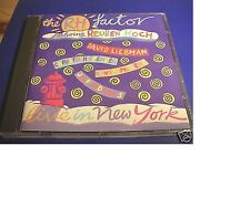 THE RH FACTOR REUBEN HOCH Live in New York DAVE LIEBMAN CHRISTOPH SPENEDEL Neu