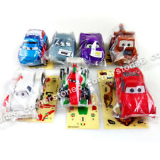 ~ Disney Pixar CARS 2 - Japan TAKARA TOMY ARTS - gashapon 7 pull back Cars set *