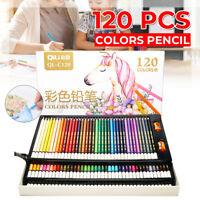 120 Pcs/set Coloured Pencils Artists Large Soft Oil Pastels Sticks Art Pastel