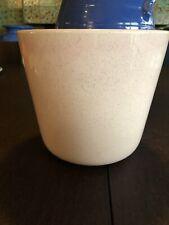 "7"" x 8"" Bauer Pottery Pink Speckle Glaze Jardiniere GENTLY USED"