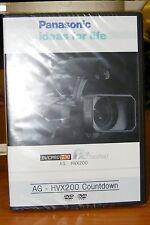 Panasonic AG - HVX200 (v3.0) 2 Dvd Set. Disc 1 - HVX200 Countdown
