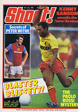 LUTHER BLISSETT / PAOLO ROSSI / PETER WITH / PHIL THOMPSONShoot9July 1983