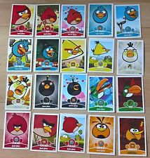 Angry Birds - Trading Cards - 20x Random Selection - Exc Con - Free Post!