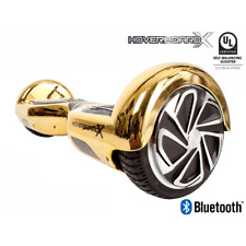 HBX-2 Self Balancing Hoverboard Scooter - UL2272 - Bluetooth Speaker - Gold