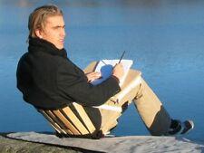 Ergolife Stol Portable Roll-Up Chair - Back Support Festivals, Picnics, Fishing