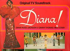 Motown. Diana Ross. Diana. (TV soundtrack). ORIG UK LP. EX