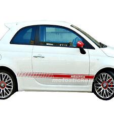 Adesivi nuova Fiat 500 - fasce adesive Abarth Style
