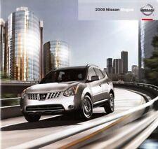 2009 09 Nissan Rogue original sales brochure Mint
