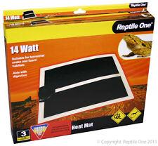 Reptile One 14w Heat Mat Large 28x 28cm Vivarium Snakes Postage