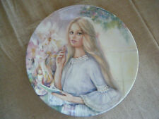 """""""The Love Letter""""~1st issue Portraits of First Love Plate~Mary Vickers Wedgewood"""