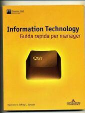 Aron-Sampler# INFORMATION TECHNOLOGY #Mondadori 2004 1A