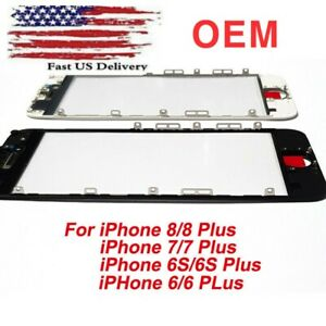iPhone 6,6S plus 7 / 7 Plus, 8, 8 plus Front Outer Screen Replacment Glass Lens