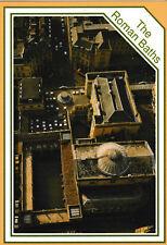 Bath, Avon, Somerset - Roman baths & Pump Room - aerial view post card