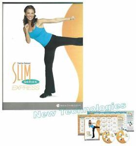 Beachbody Slim In 6 SLIM SERIES EXPRESS Debbie Siebers 5 Workout 2-DVD Program