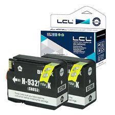 2PK 932XL Ink Cartridge for HP Officejet 6100 6600 6700 NON-OEM