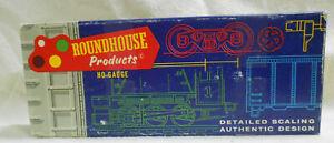 HO 1/87 Roundhouse MDC Caboose parts kit
