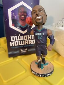 DWIGHT HOWARD 2017 CHARLOTTE HORNETS NBA COLLECTIBLE MATCH-UP BOBBLEHEAD IN BOX