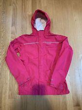 EUC Patagonia Kids Rain Jacket Torrentshell Pink H2N0 Size 14 XL