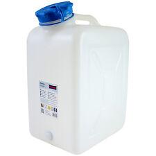 Weithals-Kanister 31 Liter Trinkwasser-Kanister Camping Labor NEU Wassertank 31L