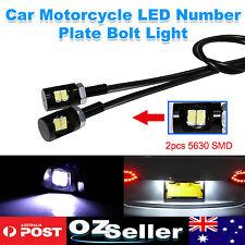 12V 5630 LED Number Plate Light Bolt Fit Hotrod Classic Vintage Car Motorcycle