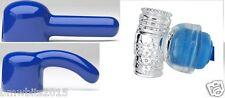 3 x Wand Magic Massager Attachments  fits AV wands  etc Accessories D