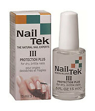 NAIL TEK Protection Plus 3 For Hard, Brittle Nails