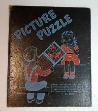 Folder Style Kitten Town Picture Puzzle w Nursery Rhymes - Anthropomorphism c195