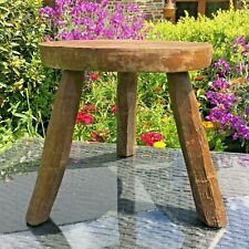 Antiques Nib Vintage Powell Furniture Pink Green Wooden Stool Bench Never Assembled 1900-1950