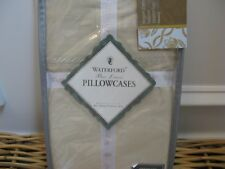 Waterford PORTUNA Taupe Standard Pillowcases