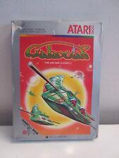 GALAXIAN Atari 2600 Video Game With Box Manual and Comic Book