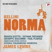 JAMES LEVINE - VINCENZO BELLINI-NORMA-SONY OPERA HOUSE 2 CD 41 TRACKS OPERS NEW+