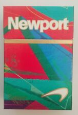 NEWPORT Limited Time Menthol Filter Cigarettes Paper Box Empty Cigarette Pack