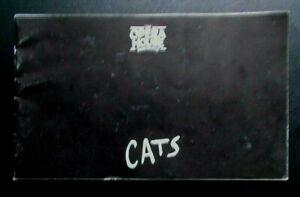 Cats programme Manchester Opera House Theatre 1995 Bruce Graham Josie Walker st
