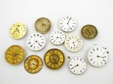 Antique Mechanical Pocket Watch Movements Parts Steam Punk Restoration LAYBY