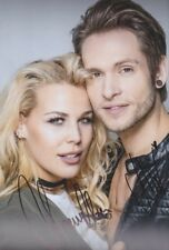 CHANELLE und ALEX DSDS Grease Foto 20x30 orignal signiert IN PERSON Autogramm