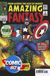 AMAZING FANTASY #1 (2021) 1ST PRINTING ANDREWS VARIANT COVER MARVEL COMICS